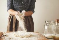 Preparing fresh pasta