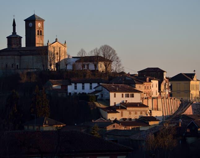 Grazzano Badoglio Sunset