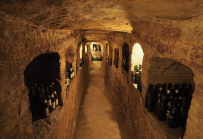 Italian Cookery Vacation Wine Cave