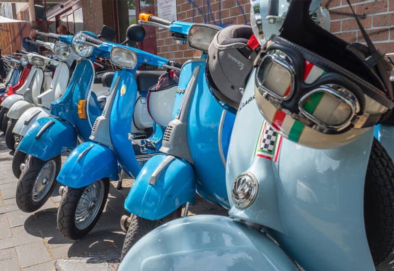 Castello di Montalero scooters